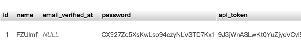 Laravel Authenticate 配置 API Token 支持-天真的小窝